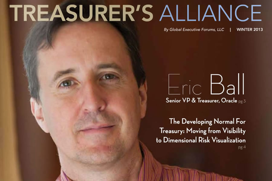 Treasurer's Alliance Magazine – Oracle, Eric Ball